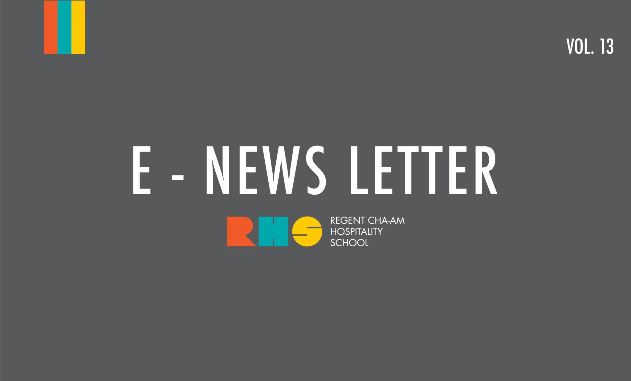 RHS E-News Letter Vol.13